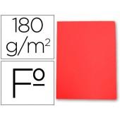 Classificador de cartolina gio folio vermelho pastel 180 g/m2