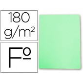 Classificador de cartolina gio folio verde pastel 180 g/m2