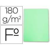 Classificador de cartolina gio folio verde pastel 180 g/m2