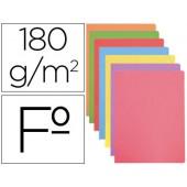 Classificador de cartolina gio folio cores pastel sortidas 180 gr/m2 pack de 50 unidades