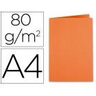 Classificador exacompta a4 laranja clementina 80g/m2