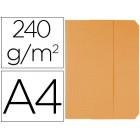 Classificador cartolinas vip fast-paperflow folio com abas pack de 50 cor laranja