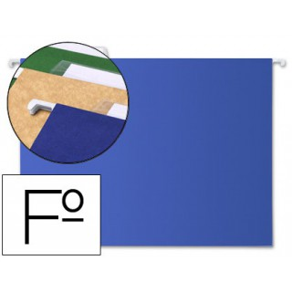 Capas de suspensao liderpapel folio kraft azul