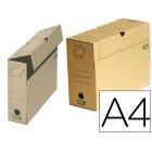 Caixas de arquivo definitivo fast-paperflow ecoline cartao castanho 24x35x15 cms