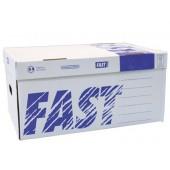 Caixa contentor din a4 fast-paperflow pack de 5 unidadees