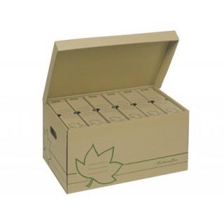 Caixas de arquivo em cartao. 520x350x260. para 6 caixas