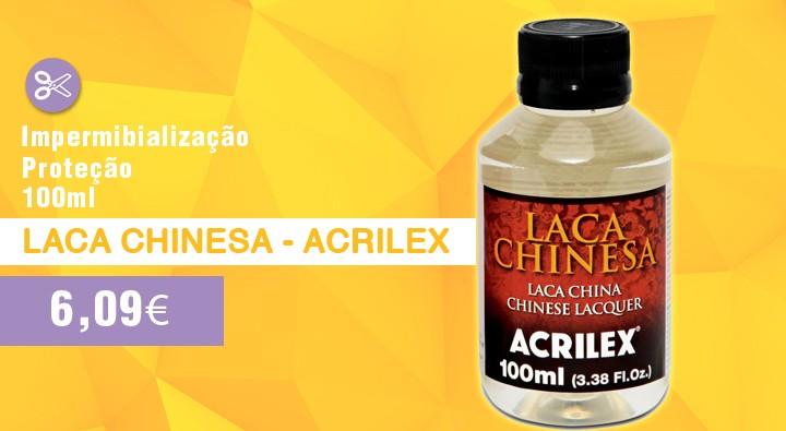 Laca chinesa - acrilex